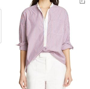 NEW Alex Mill Multistriped Shirttail Tunic